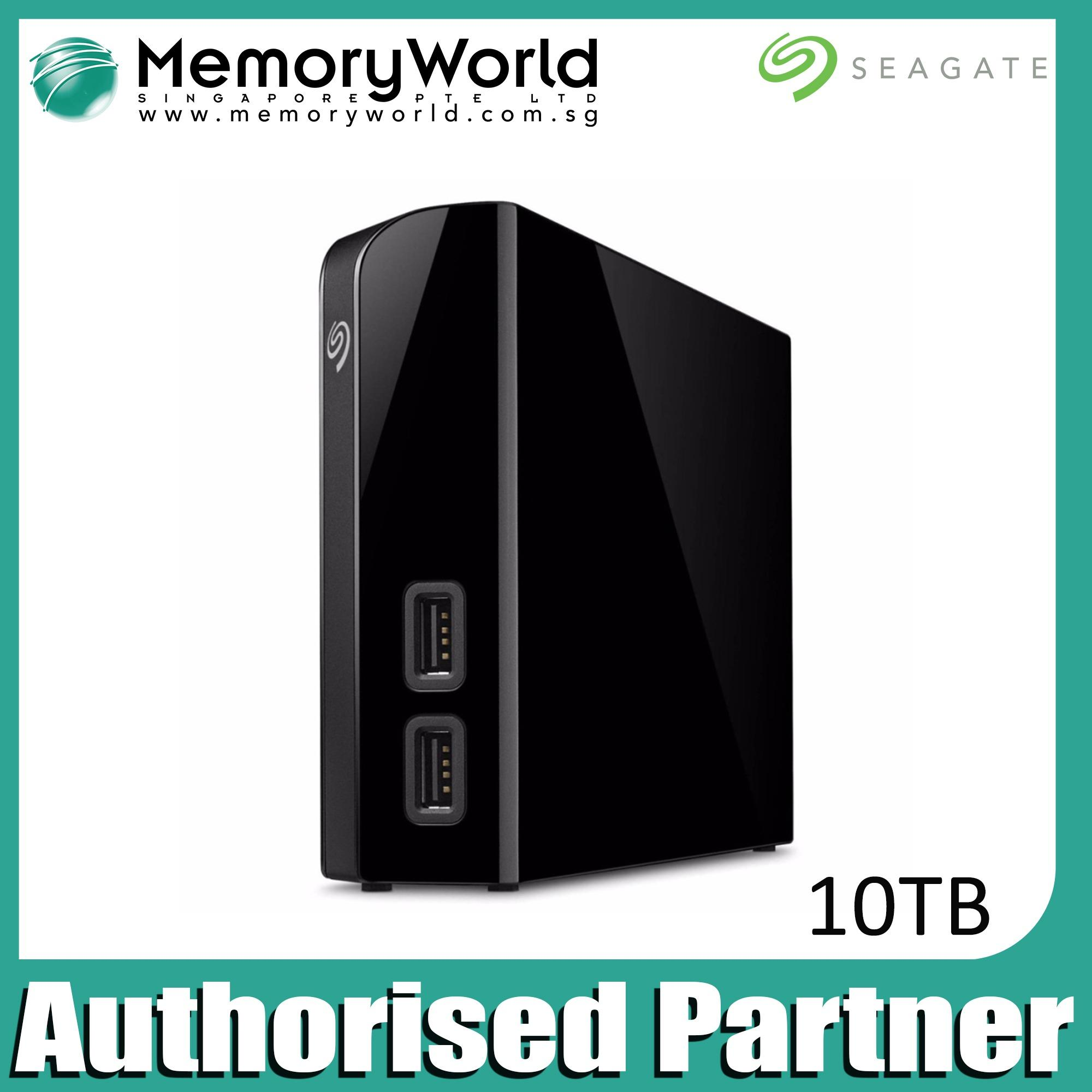 Seagate 10Tb Backup Plus Desktop Drive With Hub On Singapore