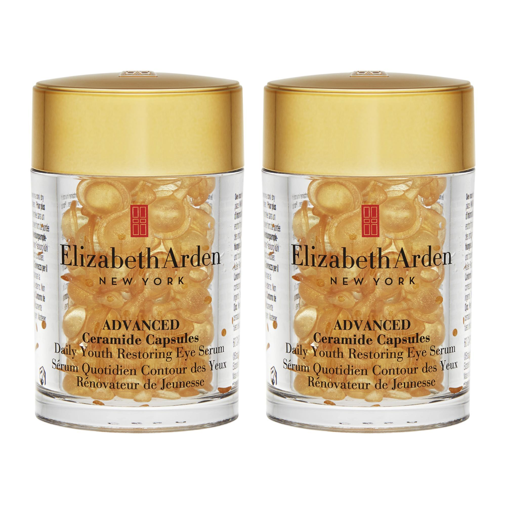 Price Comparison For 2 X Elizabeth Arden Advanced Ceramide Capsules Daily Youth Restoring Eye Serum 60Capsules Intl