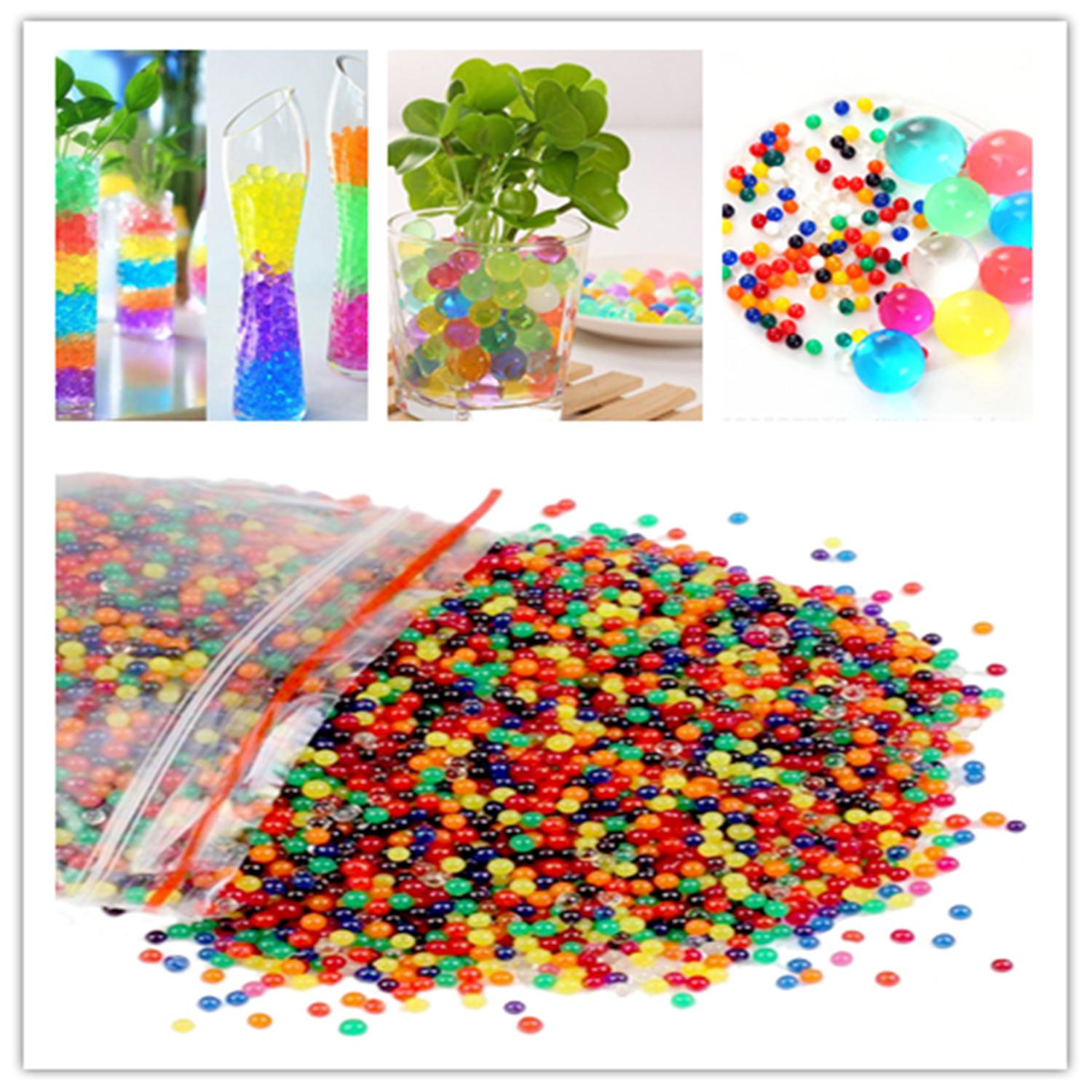 Bulk Of 6000 Beads 100G Mixed Water Beads Water Growing