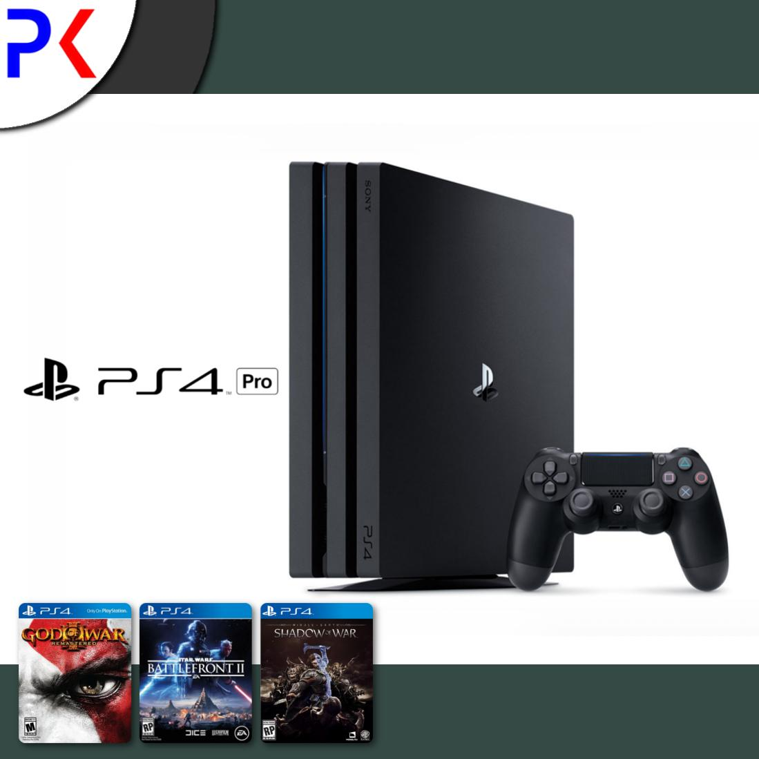 Best Price Ps4 Pro 1Tb Console 3 Games Export