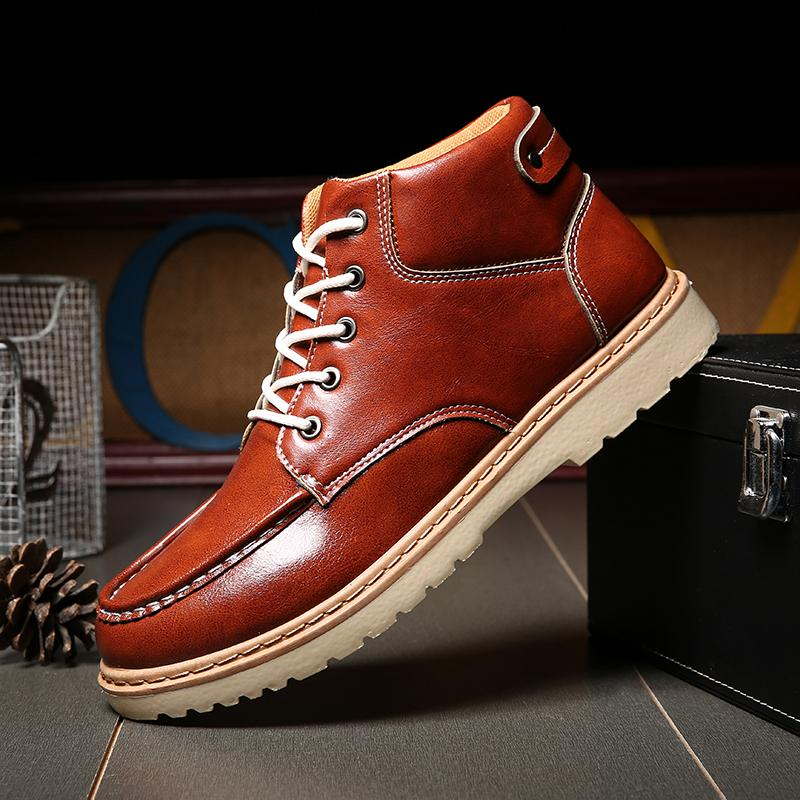 Where To Buy Mon Men Outdoor Motorcycle Boots High Quality Wing Shoes Oxfords Fashion Genuine Leather Ankle Boots