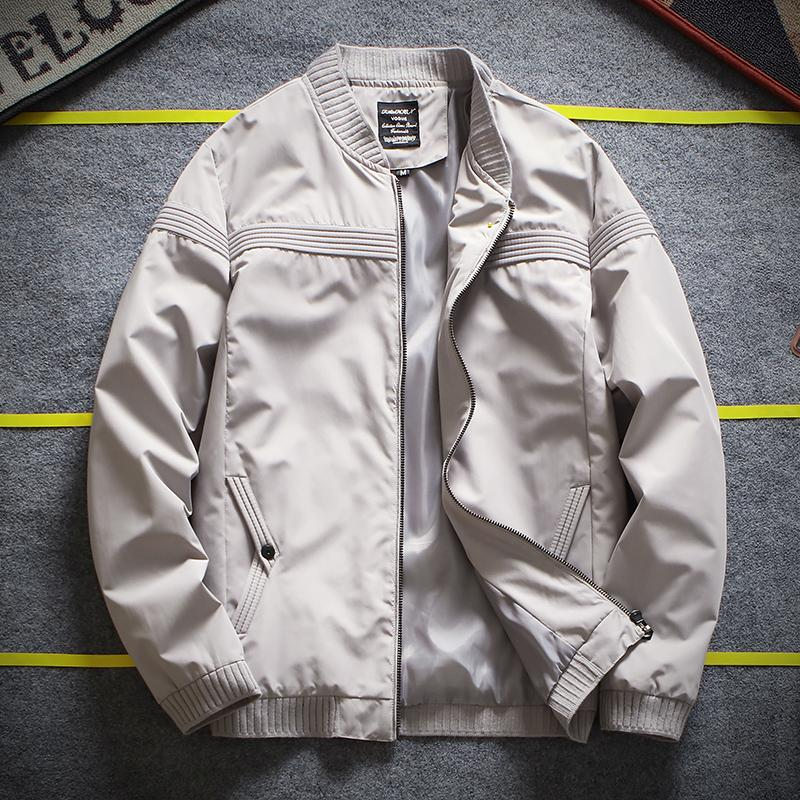 How To Get Korean Version Of The New Slim Fit Baseball Jacket For Men Handsome Men S Casual Jackets Coats