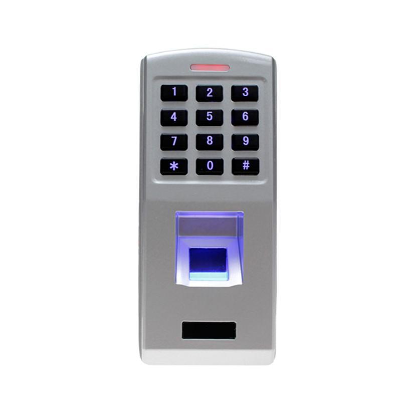 Fingerprint door lock time attendance waterproof fingerprint scanner access control keypad reader for security door lock system