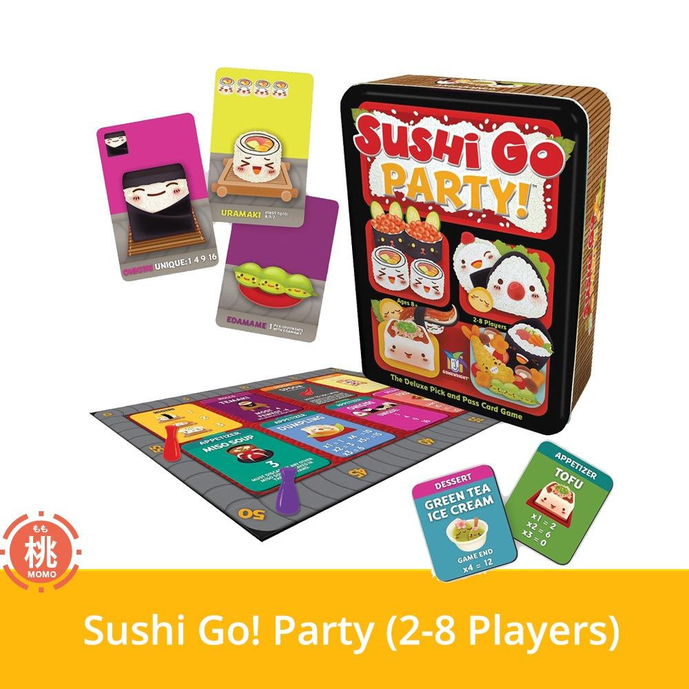 Sales Price Sushi Go Party Card Board Game 2 8 Players