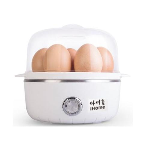 Ihome Egg Boiler (egg Steamer) Cooks Up To 7 Eggs Hard Or Soft Boiled By Fepl