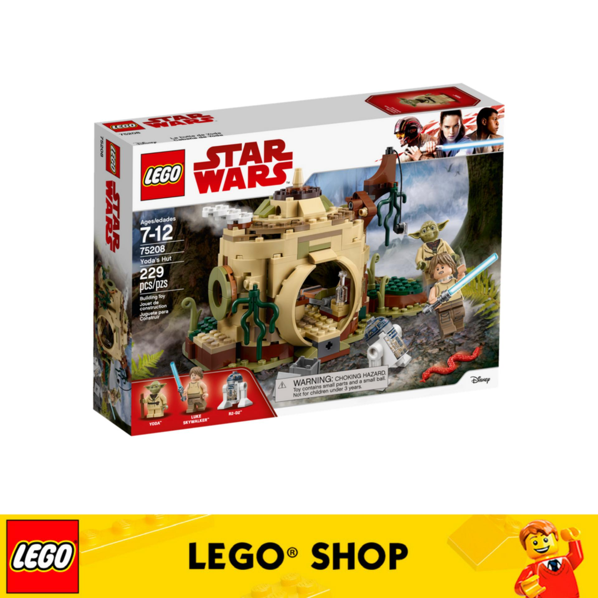 Sale Lego® Star Wars Tm Yoda S Hut 75208 Lego Branded