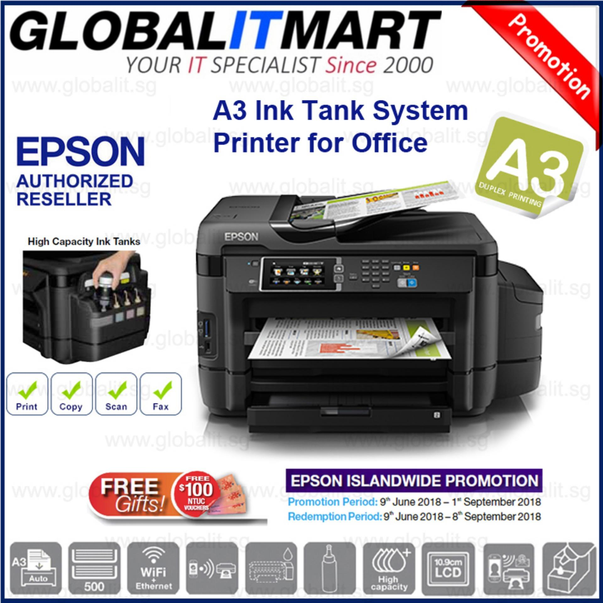 Epson L1455 A3 Duplex 4-IN-1 Ink Tank System Printer Singapore