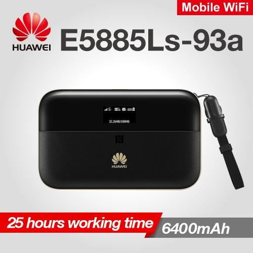 Where To Shop For Huawei E5885 E5885Ls 93A Mobile Wifi Pro 2 4G Mifi Cat6 300Mbps 6400Mah Mobile Pocket Internet Hotspot Wireless Router Rj45 Lan Ethernet Port Oled Screen