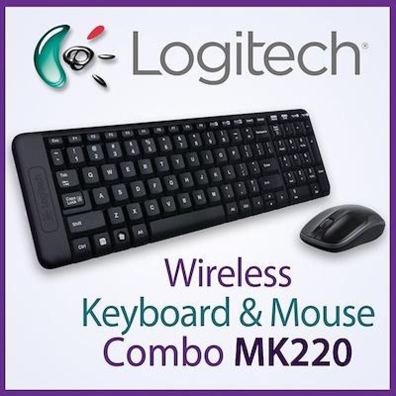 Logitech MK220 Compact Wireless Keyboard and Mouse Combo Singapore