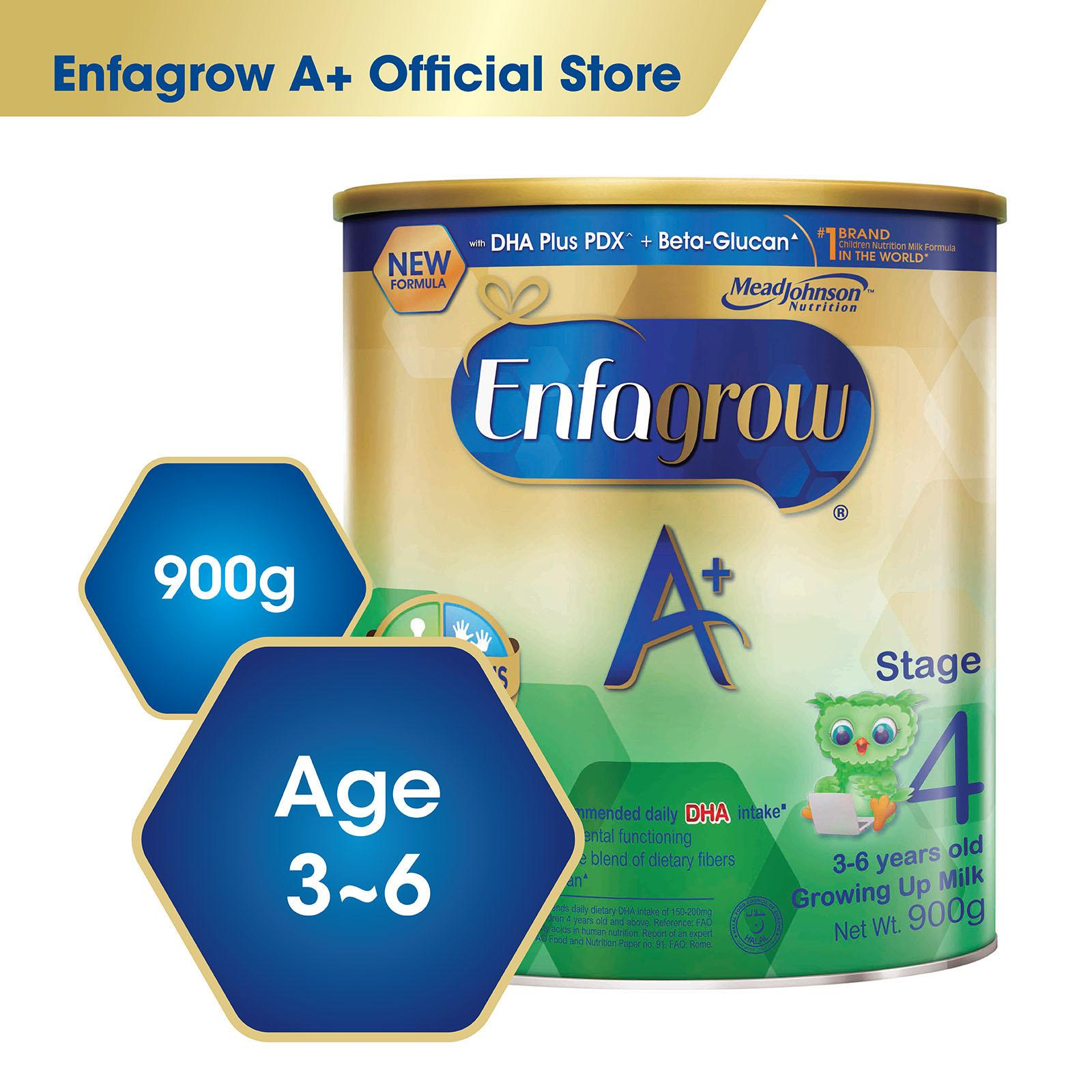 Buy Enfagrow A With 360O Dha Plus Stage 4 Milk Formula 900G Enfagrow Cheap