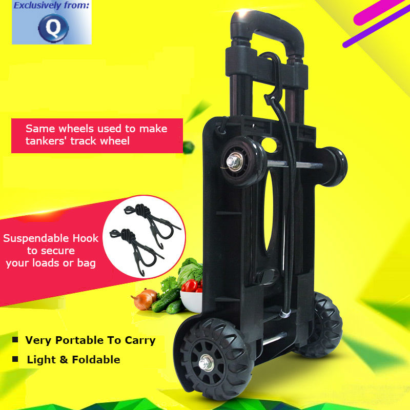 Office Trolley Cart Intended Image Foldable Hand Trolley Cart 4wheel Tanker Wheels compact