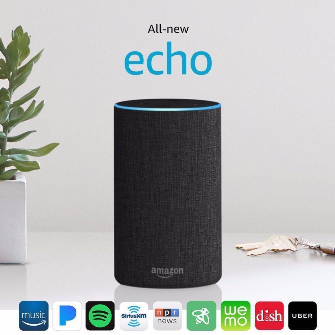 Discounted Amazon Echo Gen 2 Black White Grey Gss Promotion