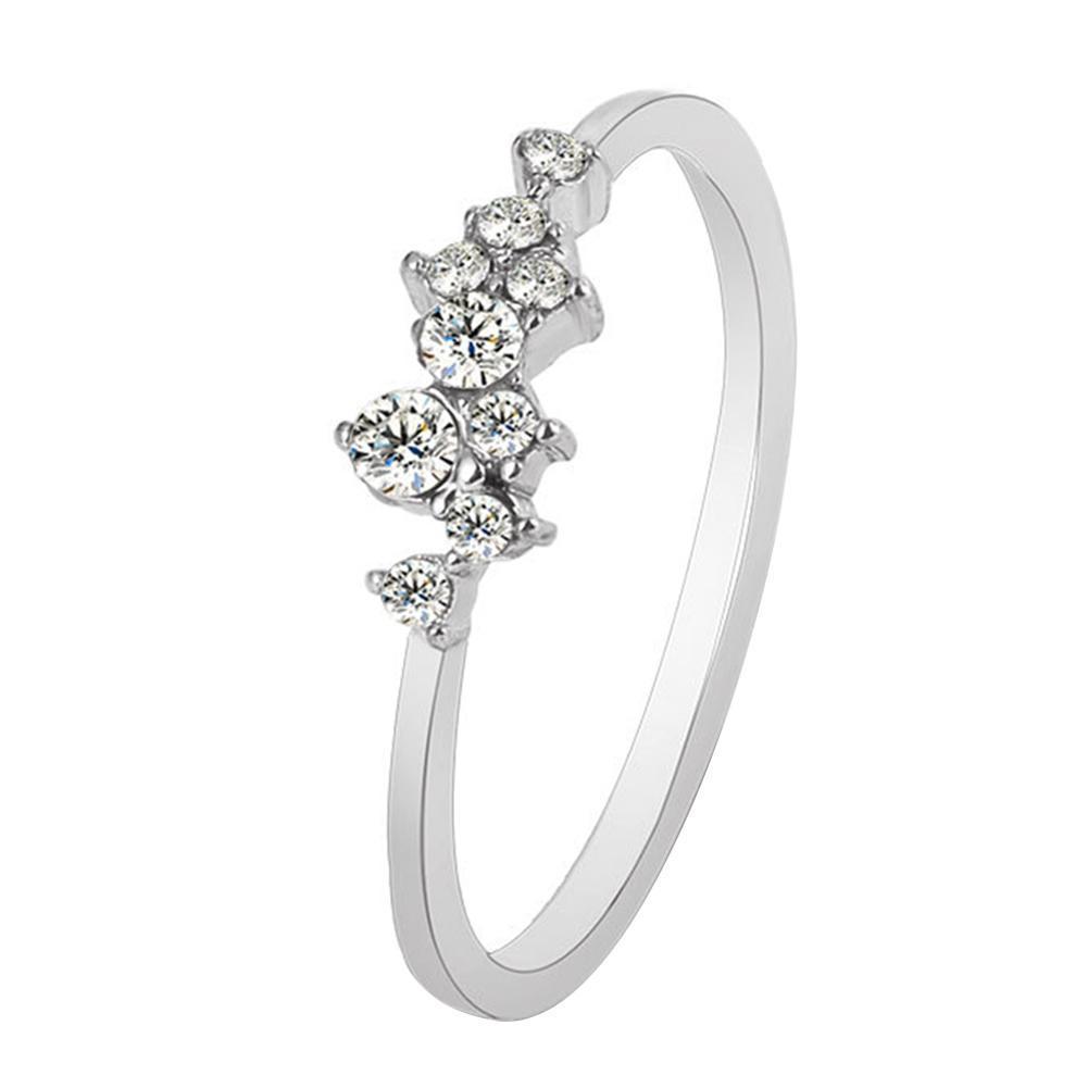 c1f8a2354e74 Fashion Women Geometric Rhinestone Knuckle Finger Rings Jewelry Gift Party