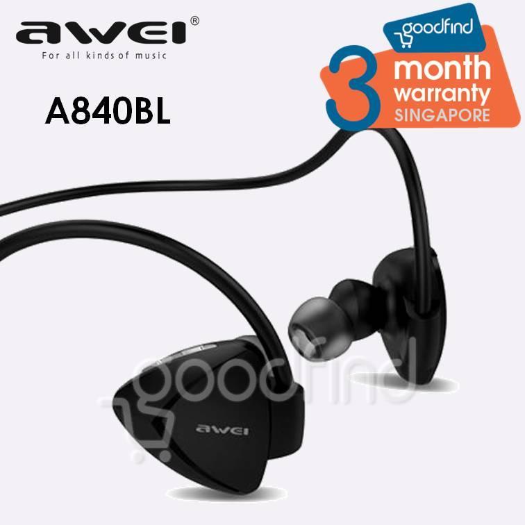 Where Can You Buy Awei A840Bl Bluetooth Sports Headset Earphone
