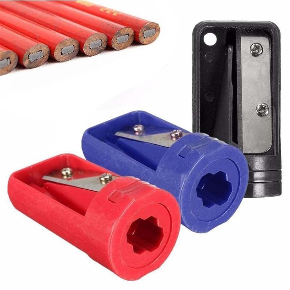 2 Pcs Tukang Kayu Rautan Pensil Cutter Alat Cukur Sempit Alat Peruncing untuk Pertukangan Peralatan Tangan-Intl