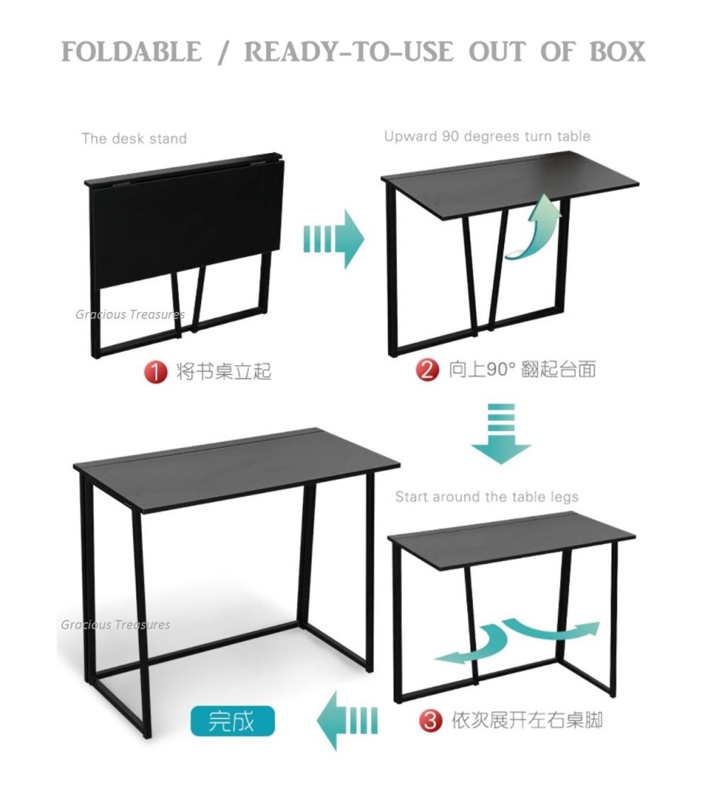 Foldable Folding Study Computer Universal Multi Purpose