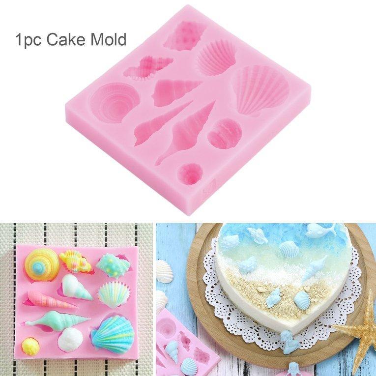 Durable Biscuit Mold Silicone Fondant Convenient 1Pc Baking Supplies Cake Mould