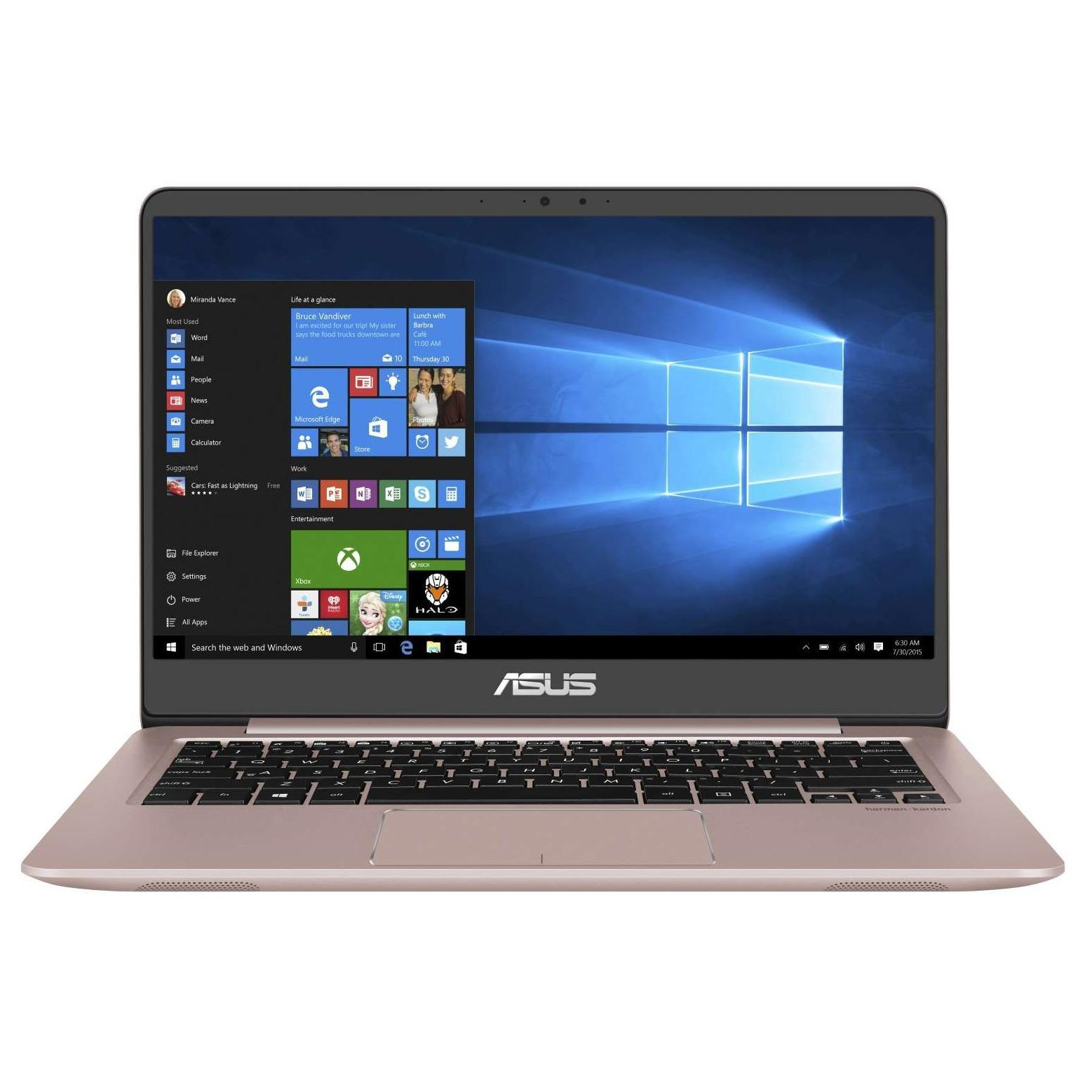 ASUS UX410UA-GV349T 14 INCH FULL HD  INTEL CORE I5-8250U 8GB 128GB SSD + 1TB HDD WIN 10