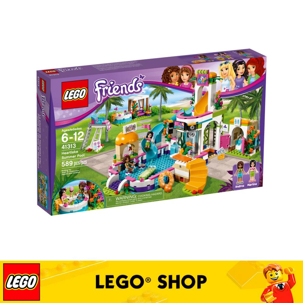 Review Lego® Lego Friends Heartlake Summer Pool 41313 Singapore