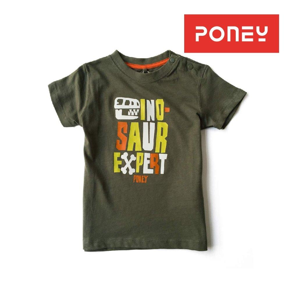 Buy Poney Boy Dinosaur Tee Army Green Gf Poney