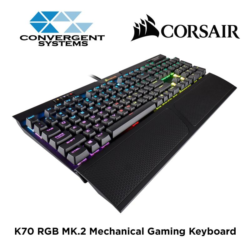 Corsair K70 RGB MK.2 RAPIFIRE Mechanical Gaming Keyboard - Cherry MX Speed RGB Singapore