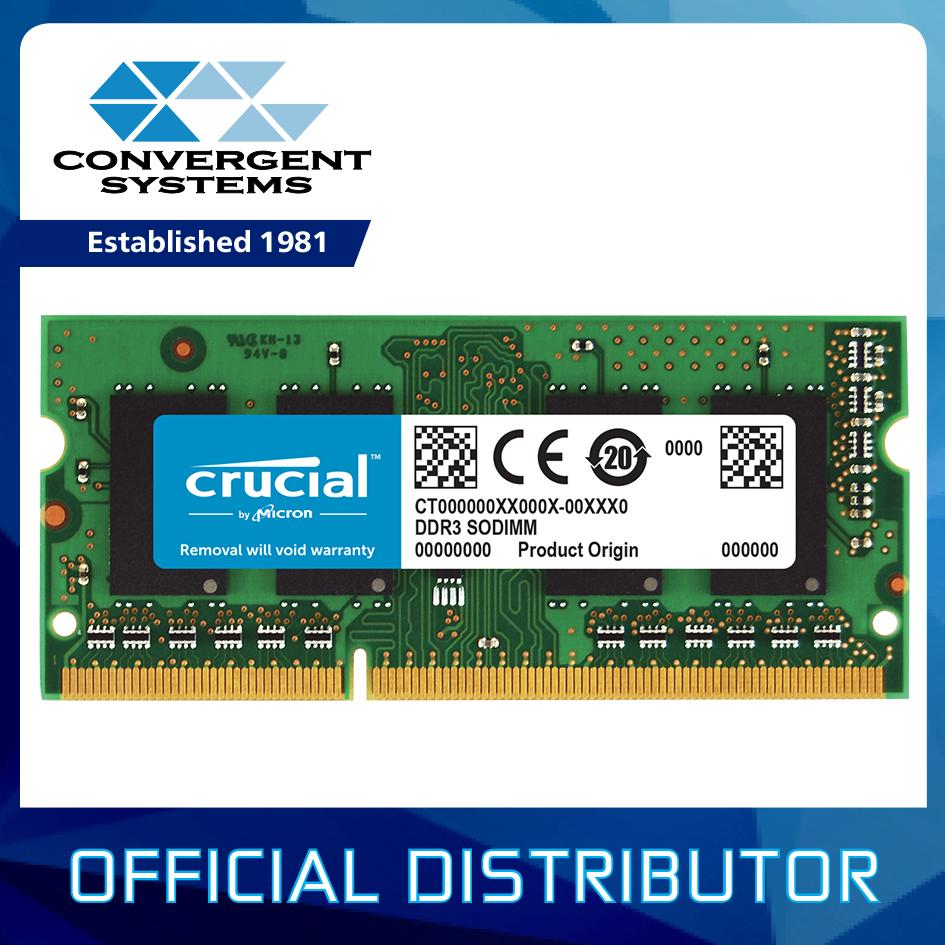 Where To Shop For Crucial 4Gb Ddr3 Ddr3L 1600Mhz Cl11 1 35V 1 5V 8 Chips Non Ecc Sodimm So Dimm Notebook Memory Ct51264Bf160Bj