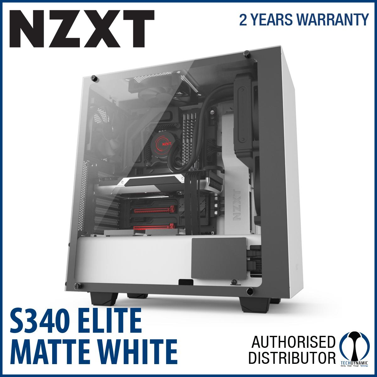 Review Nzxt S340 Elite White On Singapore