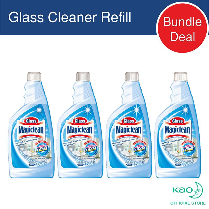 Review Magiclean Glass Refill 500Ml Set Of 4 Magiclean On Singapore