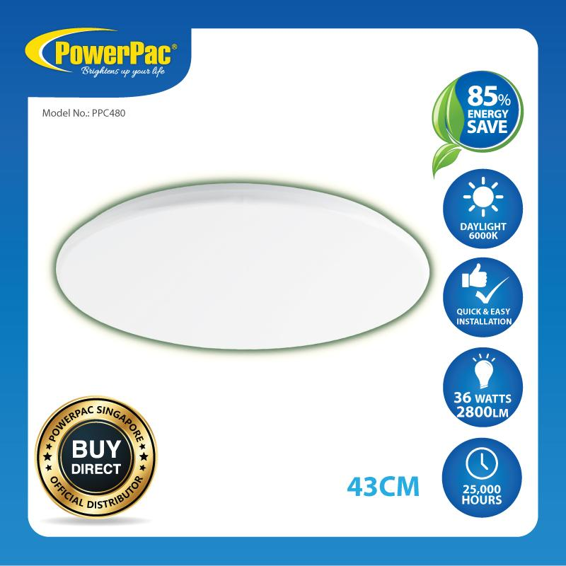 Powerpac 36W Led Ceiling Lamp Sphere Daylight Ppc480 Reviews
