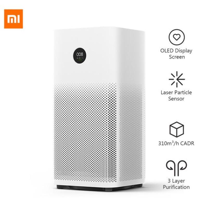 ORIGINAL XIAOMI OLED DISPLAY SMART AIR PURIFIER 2S - WHITE SMARTPHONE MI HOME APP CONTROL SMOKE DUST PECULIAR SMELL CLEANER Singapore