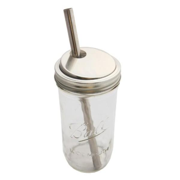 12 mm * 21 cm Reusable Bubble Tea Smoothie Extra Wide Stainless Steel Straw