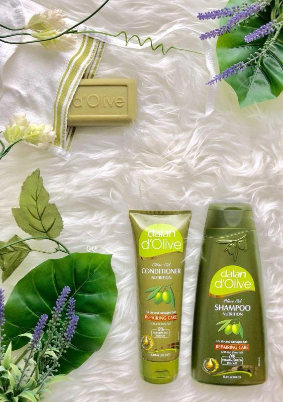 Buy Dalan Big Gift Set ( Repairing Shampoo + Conditioner +100% Olive Soap ) Singapore