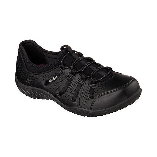 Review Skechers Woman Work Relaxed Fit Rodessa Slip Resistant 76578 Blk Skechers