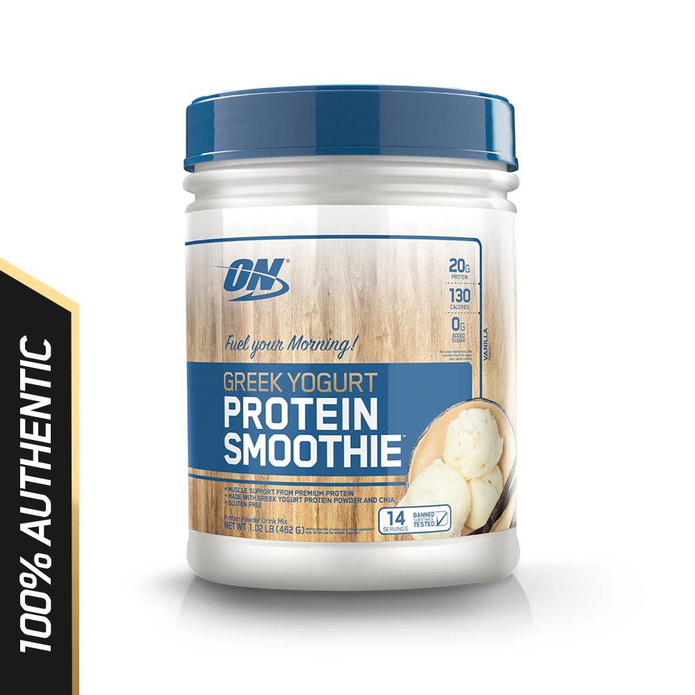 Top Rated Optimum Nutrition Greek Yogurt Protein Smoothie 1 Lb Vanilla