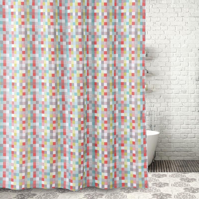 Becan Dacron Waterproof Padded Anti Mildew Shower Curtain In Stock