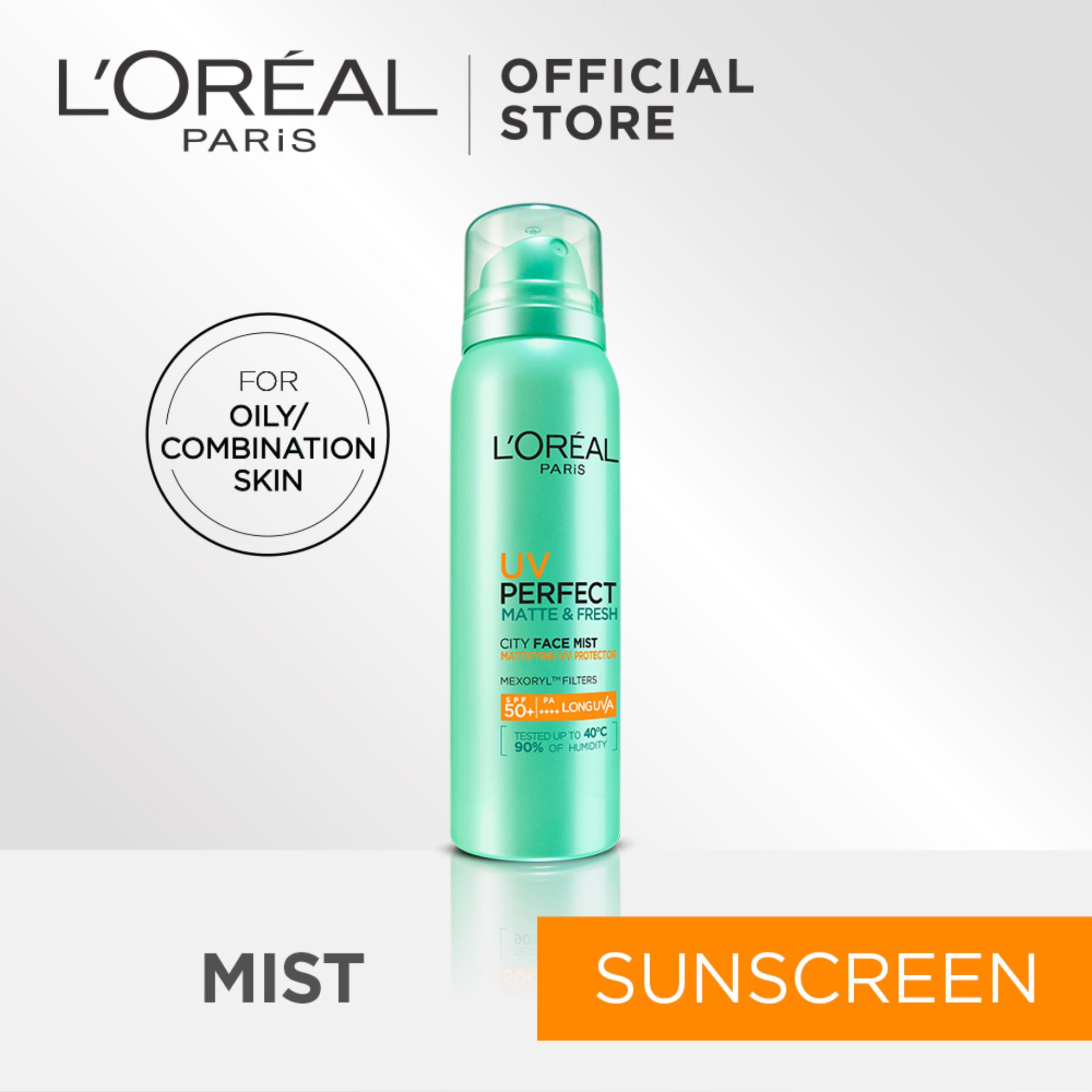 How To Get L Oreal Paris Uv Perfect Mattifying City Mist Sunscreen Spf50 Pa