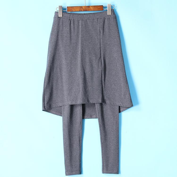 Gaya Celana Panjang Casual Warna Polos Seri Unik