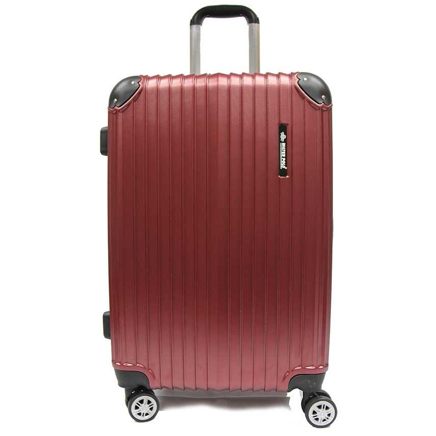 Price 28 Inch Large Abs Expandable Luggage With 8 Spinner Wheels And Tsa Lock Water Polo Online