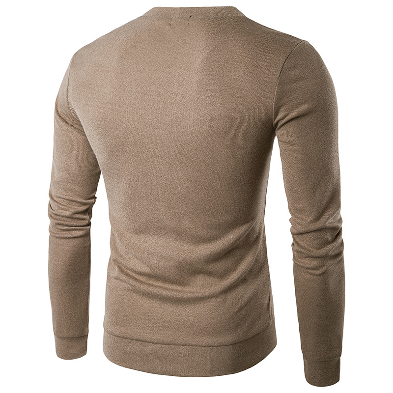 dc894113b5c Man Cardigan Good Qualit Knitwear Solid Color Autumn Spring Winter Knit  Single Breasted Buttons Slim Long Sleeve Fashion Men Sweater - intl