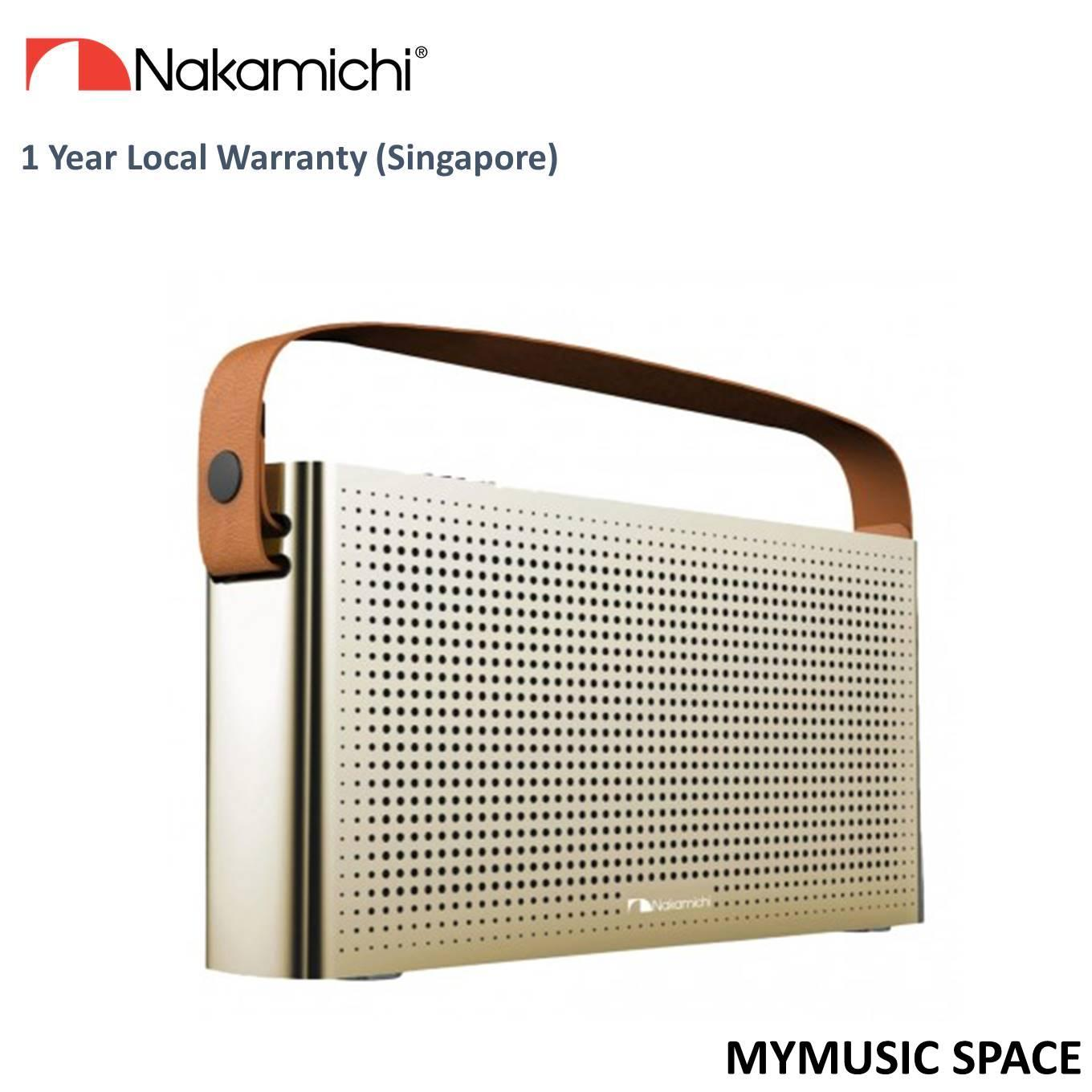Price Nakamichi Mymusic Space Bluetooth Speaker Gold Nakamichi