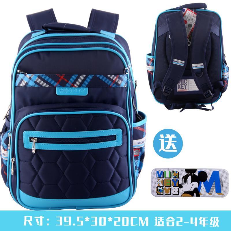 04402eb4fd Disney Schoolbag for Elementary School Students 1-3-4 Grade boy men 6-