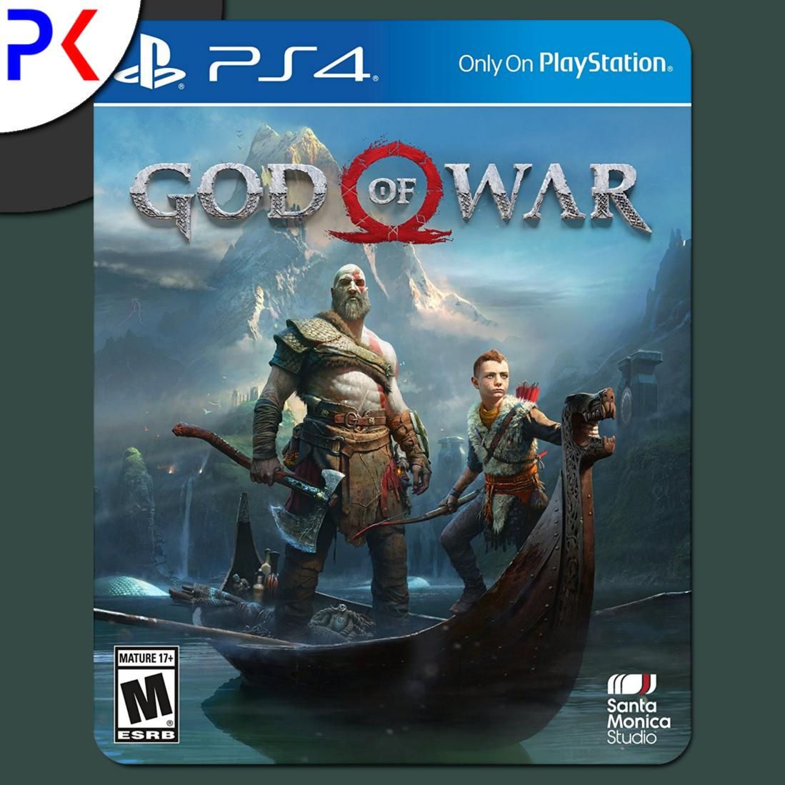 Sale Ps4 God Of War R1 Sony Branded