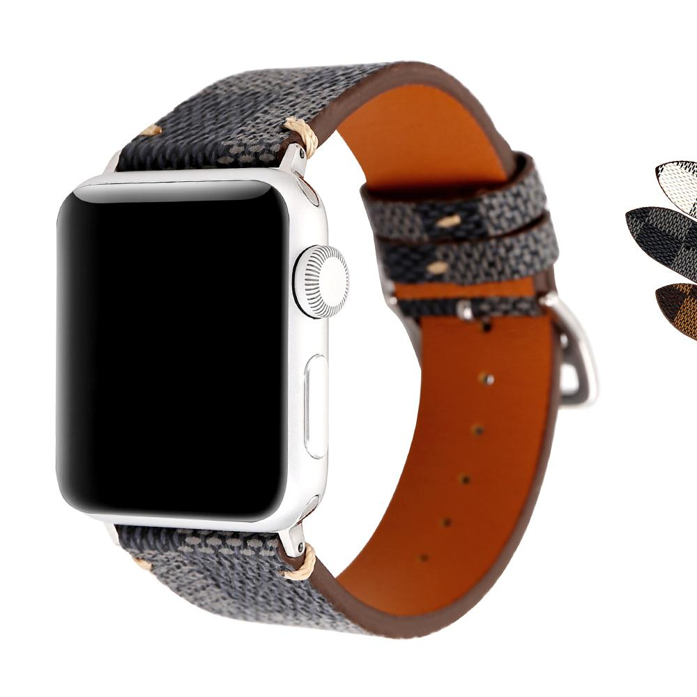 Price For Apple Watch Band 42Mm Genuine Leather Strap Classic Replacement Iwatch Wristband With Secure Buckle Upgraded Adapter For Apple Watch Series 3 2 1 Sport Edition On China