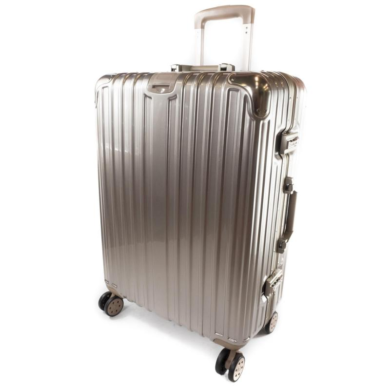 24 inch Aluminum Frame Suitcase with Warranty