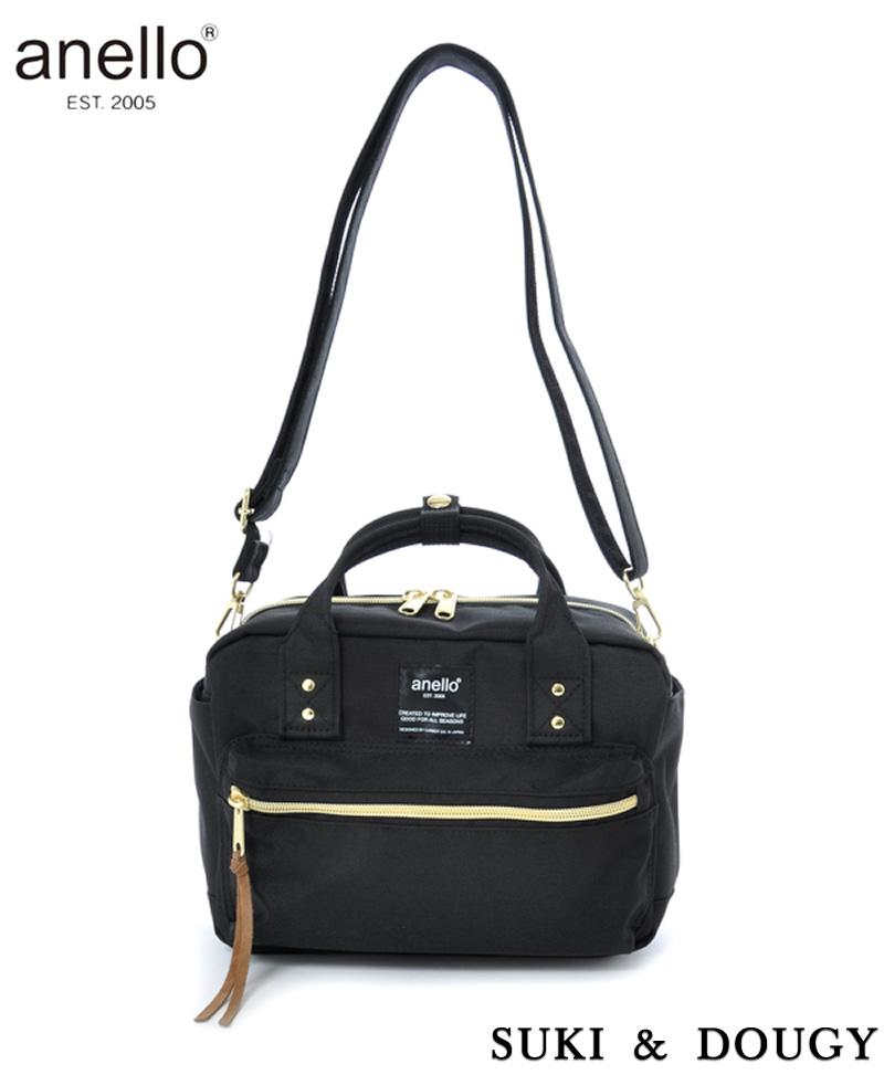 Sale 【Anello】100 Authentic Square Mini Boston 2 Way Shoulder Bag Anello Online