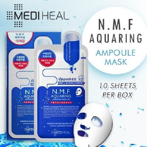 Buy Mediheal N M F Aquaring Ampoule Mask 10 Sheets Box Cheap On Singapore