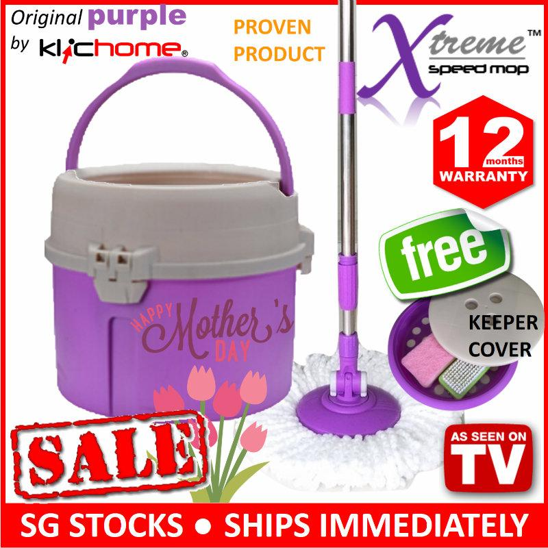 Sale Original Xtreme Speed Mop Original Purple By Klichome Online Singapore