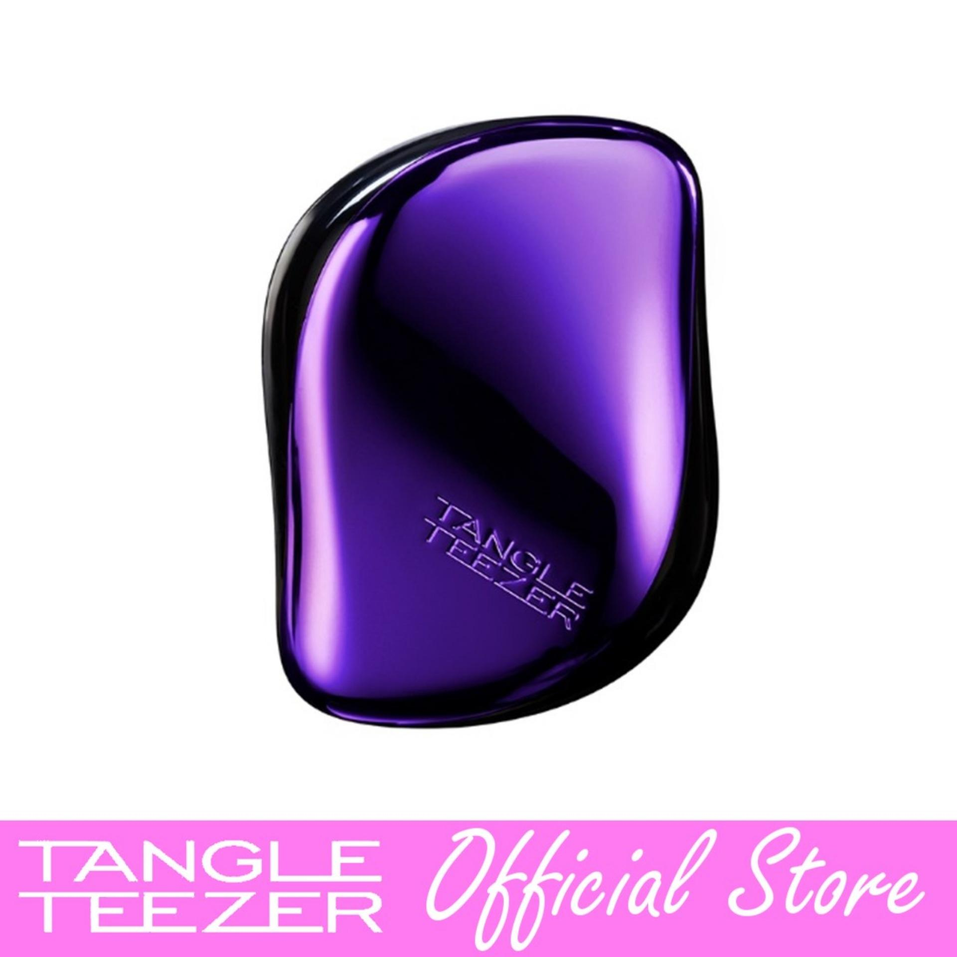 Buy Tangle Teezer Compact Styler Purple Dazzle Singapore