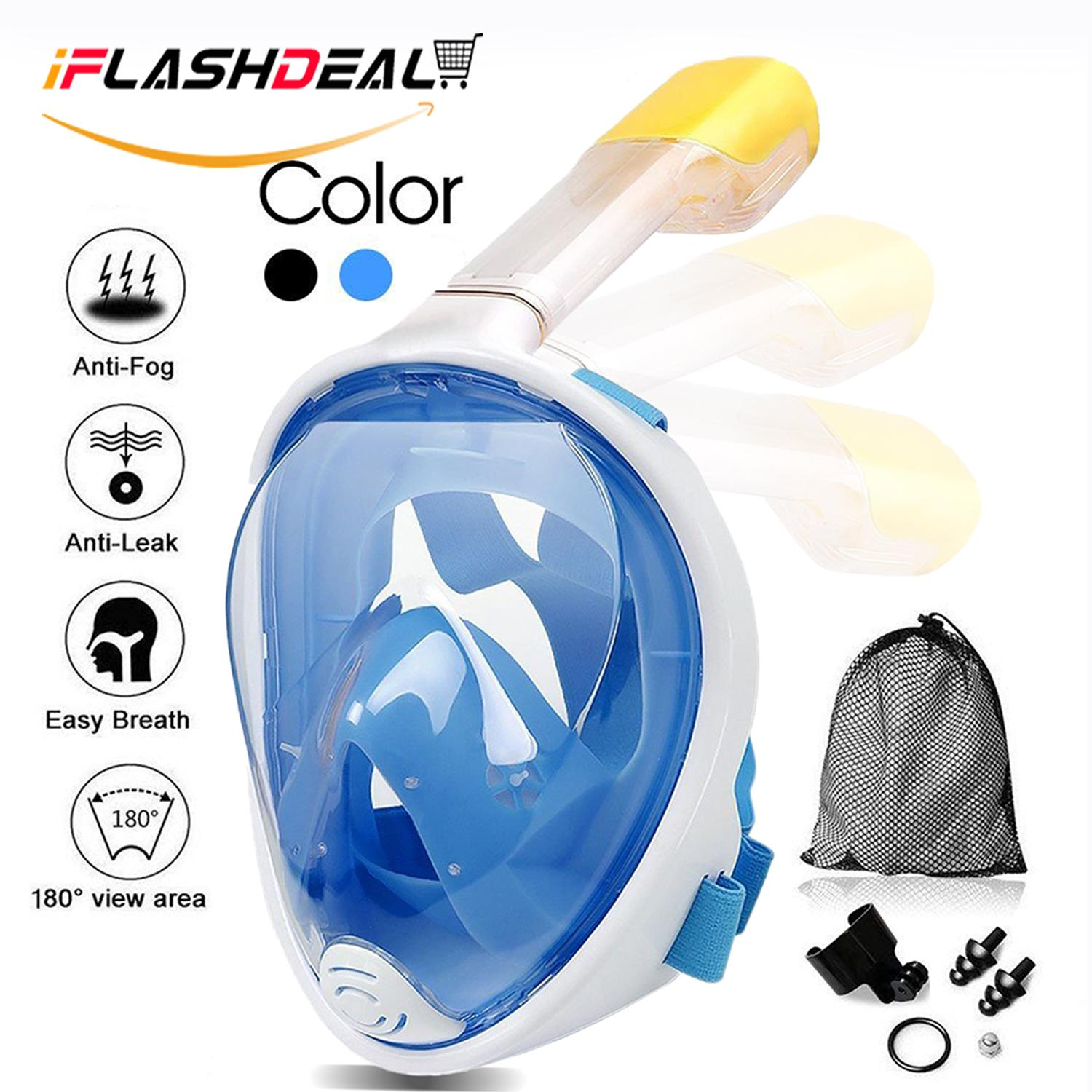 Diving Snorkeling Terlengkap Mesin Jahit Tangan Portable Iflashdeal Masker Outdoor Olahraga Air Menyelam Snorkel Mask Full Face And