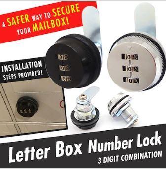 Price ★Sg Local★Genuine★Premium★Hdb Keyless Mail Letter Box Lock ★ Keyless Cabinet Lock ★ Number Lock Oem Singapore